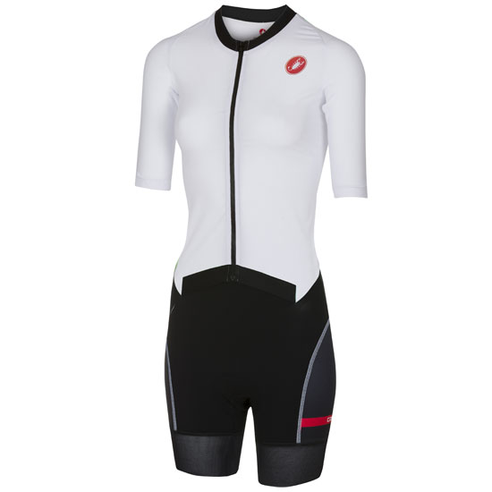 Body Castelli All Out Speed Suit - Bianco