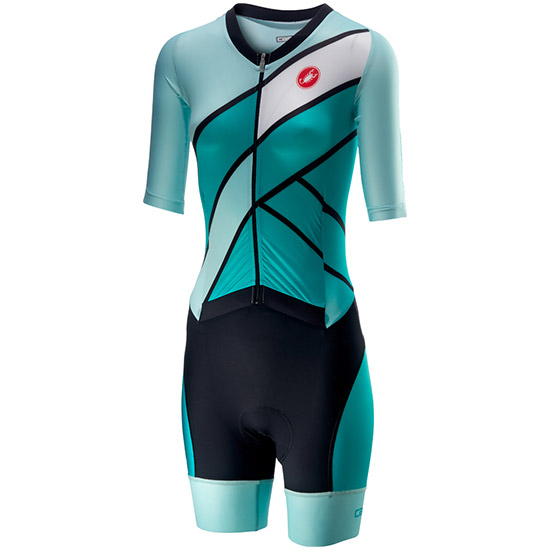 Body Castelli All Out Speed Suit - Turchese