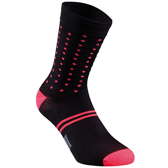 Calze Specialized Dots - Nero rosso