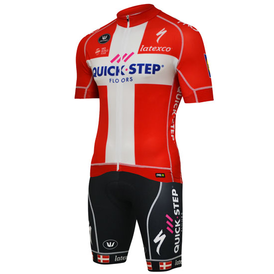 Completo Quick Step Floors PRR 2018 - Campione Danese