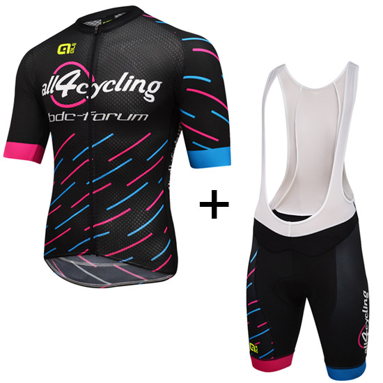 Completo Race Team All4cycling Bdc - Pink