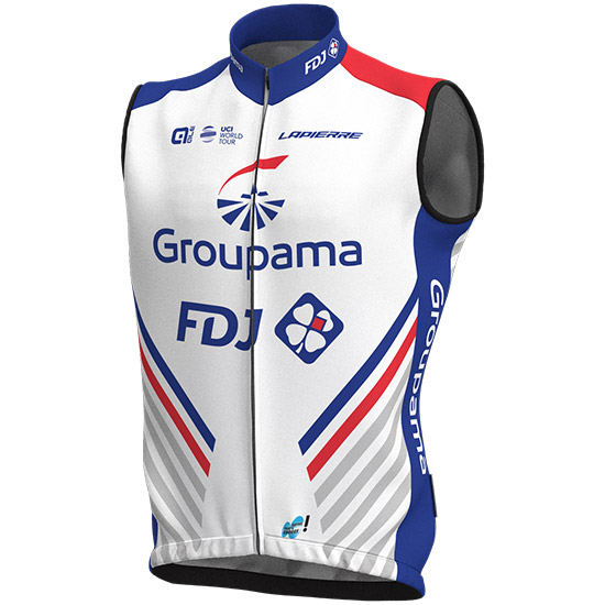 Gilet antivento Groupama Fdj 2018