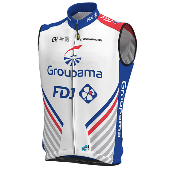 Gilet antivento Groupama FDJ 2019
