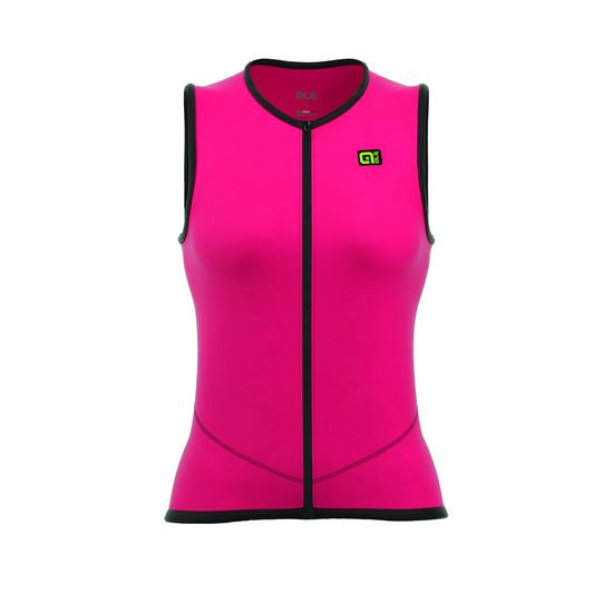 Gilet Ale Icona - Rosa Fluo