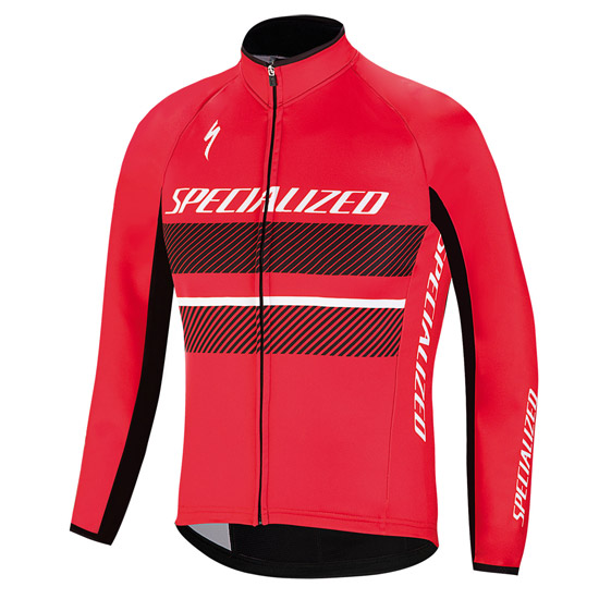 Giubbino Specialized Element RBX Comp Logo - Rosso