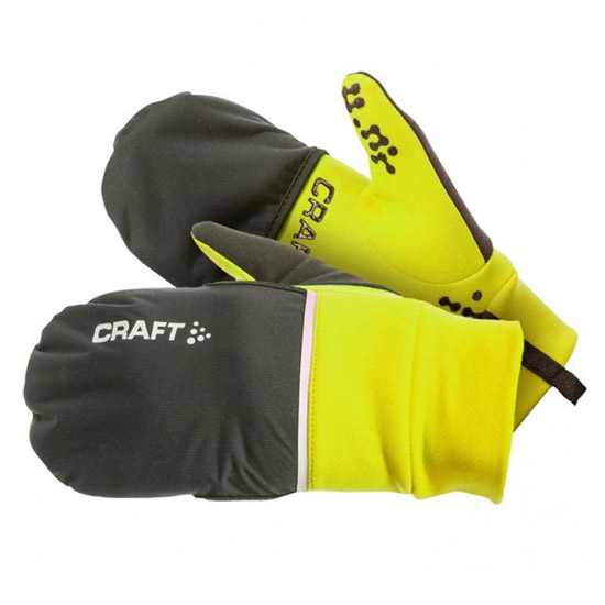 Guanti Craft Hybrid Weather 2017 - Giallo