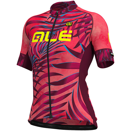 Maglia Ale Graphics PRR Sunset - Rosa bordeaux