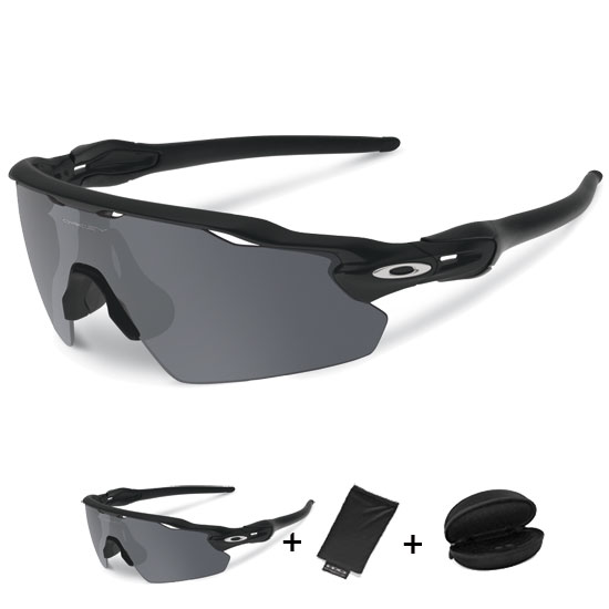 Occhiali Oakley Radar EV Pitch - Matte Black Iridium