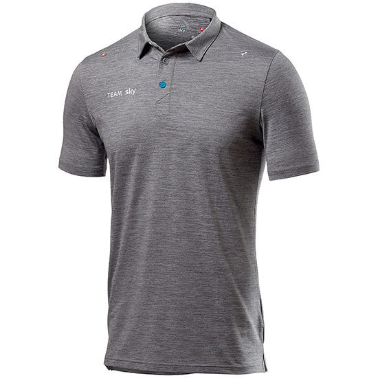 Polo Tech Pro Team Sky 2019 - Grigio
