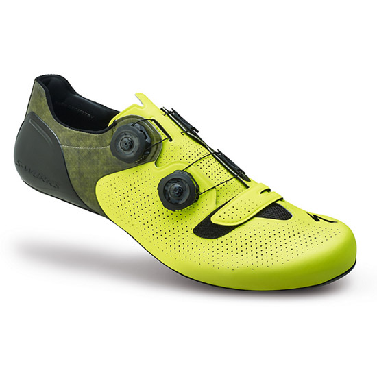 Scarpe Specialized S-Works 6 Road - Giallo Neon
